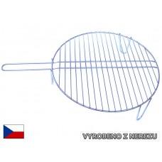 Rošt grilovací kruhový nerez 50 cm
