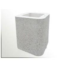 Nástavec betonový komínový díl pro krb SIESTA a ATLAS 40 cm